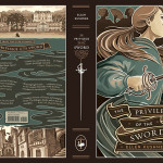Privilege of the Sword dust jacket by Taline Boghosian